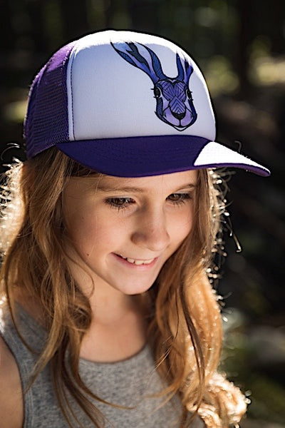 Ambler Faces kids hat - Hare - Model