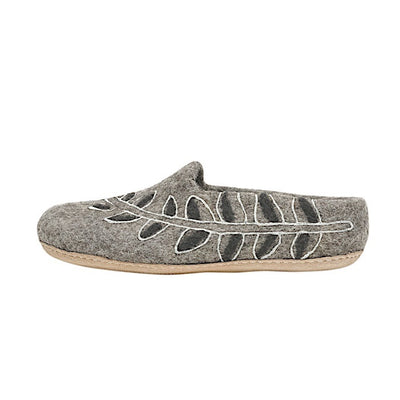 Ambler Fern Slipper - Heather Grey