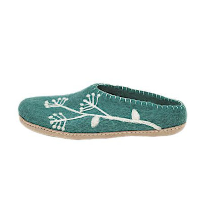 Ambler Fireweed Slipper - Teal