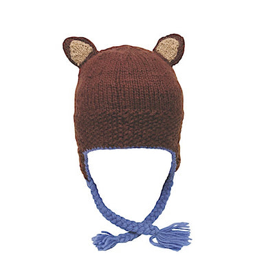 Ambler Forest Kid's Toque - Brown