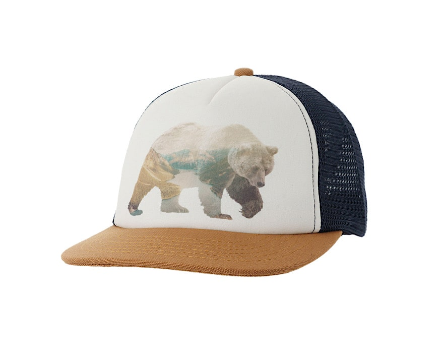 Ambler Grizzly Trucker Hat - Carpenter