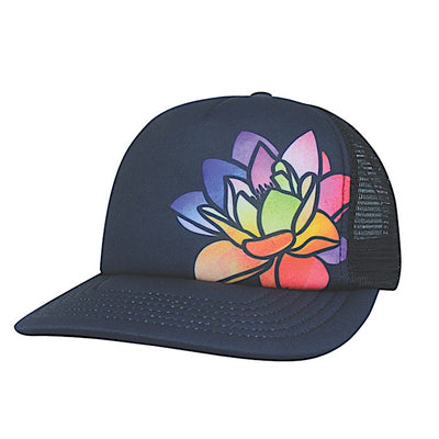 Ambler Lotus hat - Black