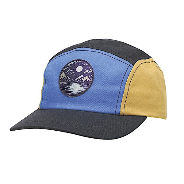 Ambler Luna kids five panel hat - Marine Blue