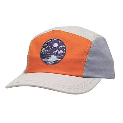 Ambler Luna kids five panel hat - Sweet Potato