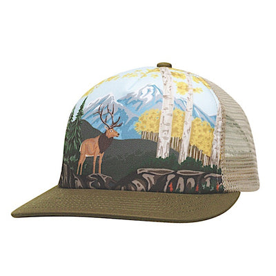 Ambler Paint By Number kids hat - Khaki