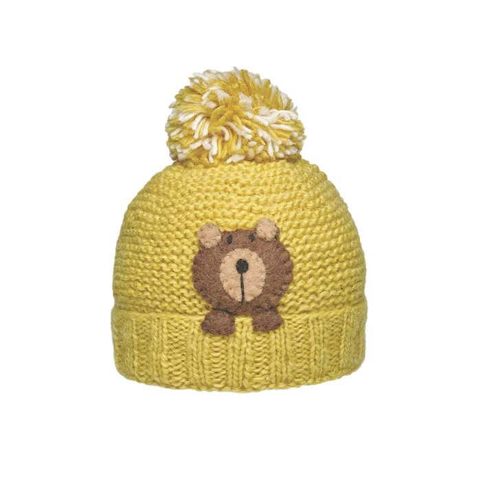 Ambler Peek-a-Boo Kid's Toque - Bear