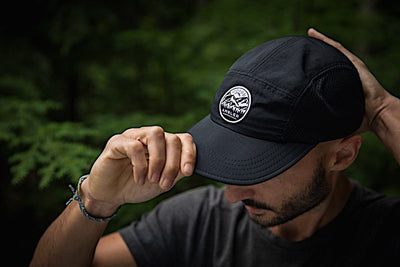 Ambler Ryder 5-panel Hat - Black - Model