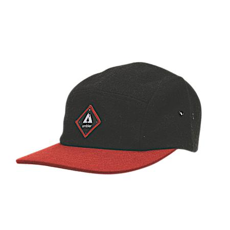Ambler Scout 5-panel Hat - Black
