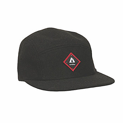 Ambler Scout Winter 5 Panel Hat - Black