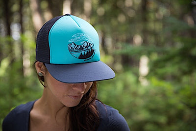 Sky Trucker Hat - Moonstone - Womens
