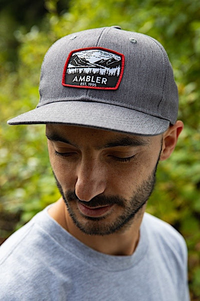 Ambler Stikine Hat - Heather Grey - Model