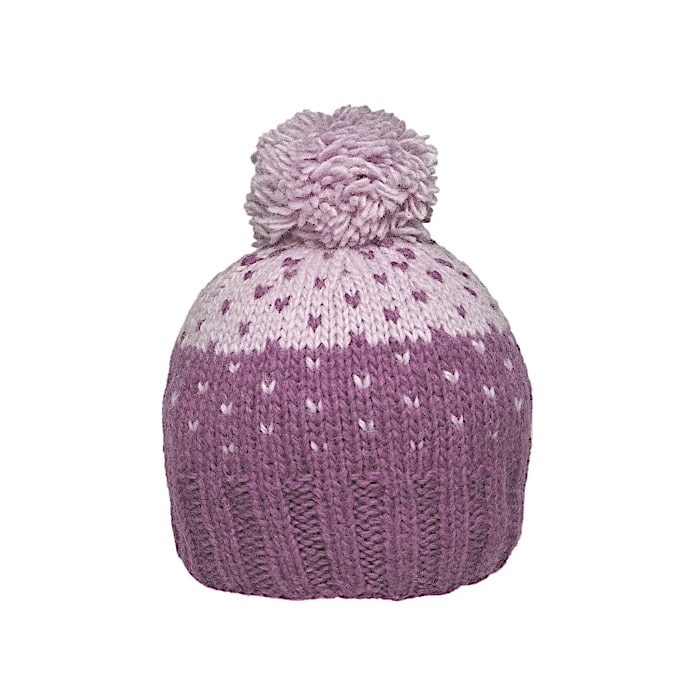 Ambler Thistle Kid's Toque - Deep Mauve