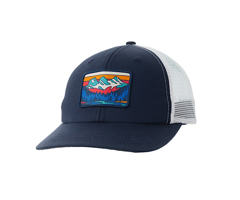 Ambler Three Sisters Trucker Hat - Navy