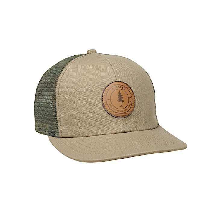 Ambler Wanderer Trucker Hat - Denim
