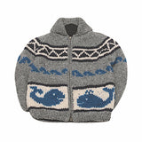 Ambler Whale Kids Sweater - Front