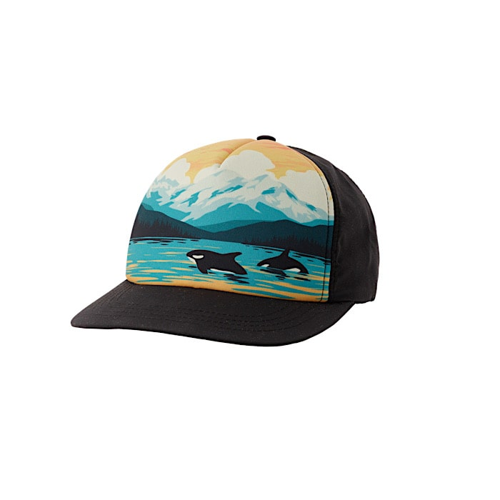 Ambler Wilderness Snapback Hat - Black