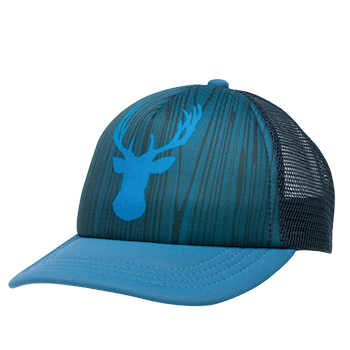 Ambler Buck kids hat - Ink Blue