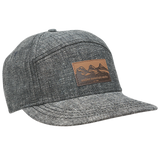 Ambler Drifter hat in Black Denim
