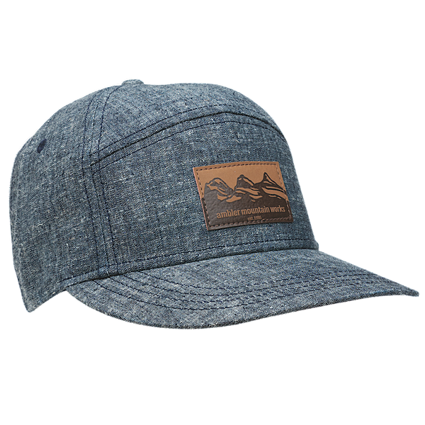 Ambler Drifter hat in Navy Denim