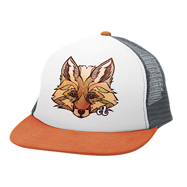 Ambler Faces kids hat - Fox