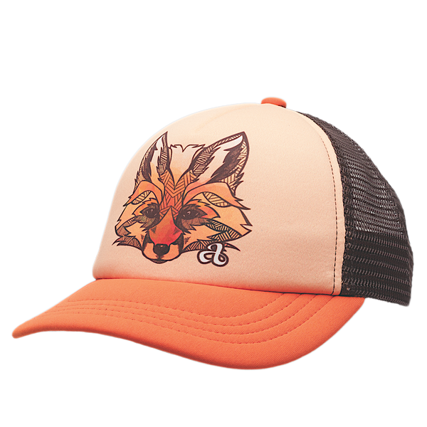 Ambler Faces toddler trucker hat - Fox