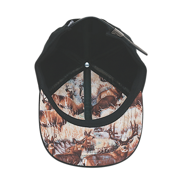 Ambler Woody hat in Black - interior