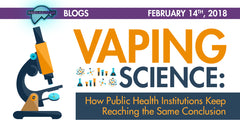 VAPING SCIENCE:  How Public Health Institutions Keep Reaching the Same Conclusion