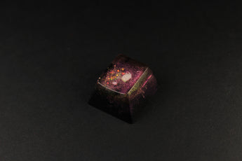 Cherry Esc - Star Shower 2 - PrimeCaps Keycap - Blank and Sculpted Artisan Keycaps for cherry MX mechanical keyboards