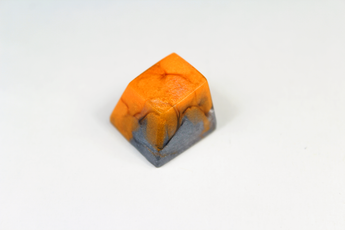 Chaos Caps 1.1 - Carbon Dallas - PrimeCaps Keycap - Blank and Sculpted Artisan Keycaps for cherry MX mechanical keyboards