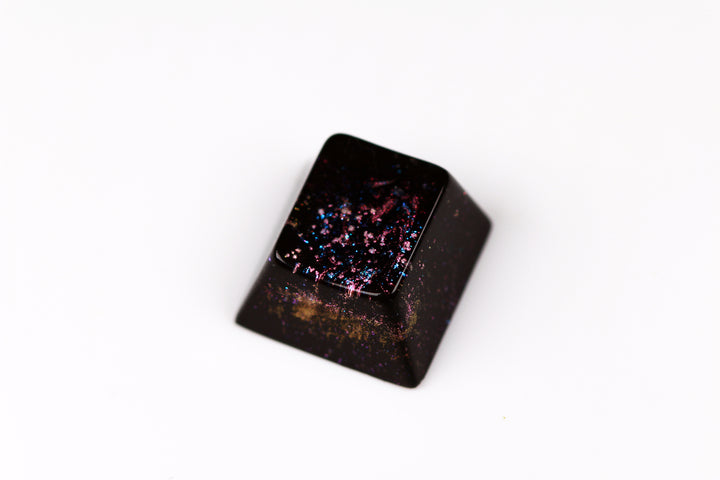 Cherry ESC - Deep Field Stellar Effervescence 2 - PrimeCaps Keycap - Blank and Sculpted Artisan Keycaps for cherry MX mechanical keyboards
