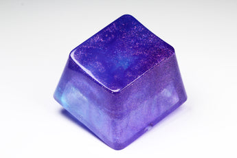Gimpy Gigantikey - Deep Sky - PrimeCaps Keycap - Blank and Sculpted Artisan Keycaps for cherry MX mechanical keyboards