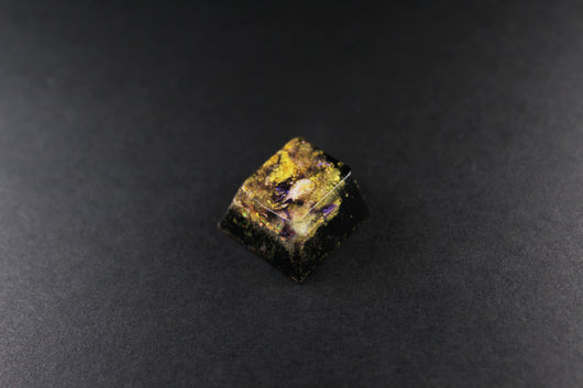 Cherry Esc- Deep Purple- 3 - PrimeCaps Keycap - Blank and Sculpted Artisan Keycaps for cherry MX mechanical keyboards