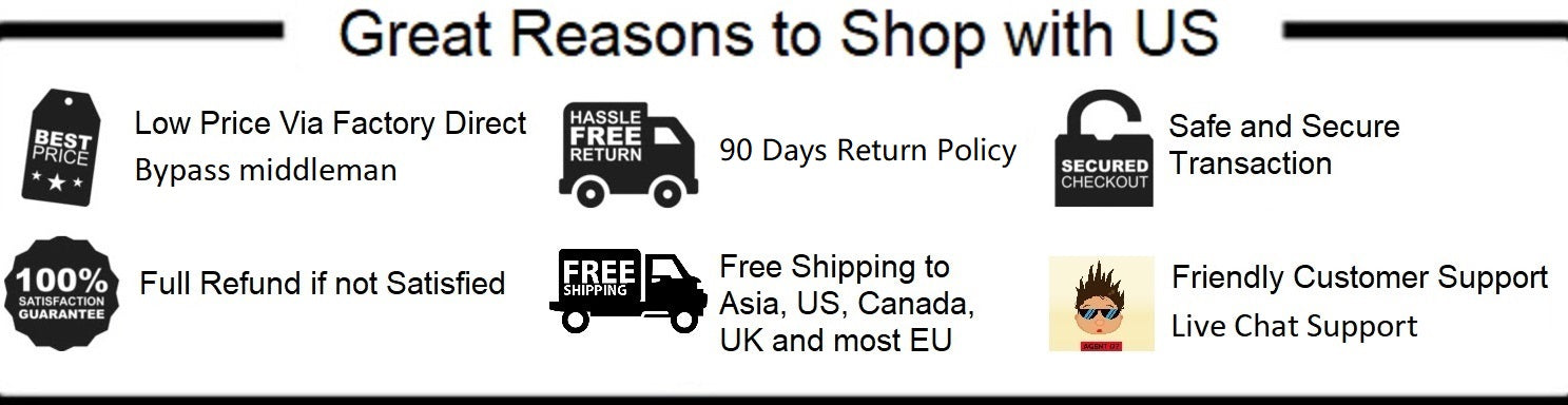 Great Reasons to Shop with US
