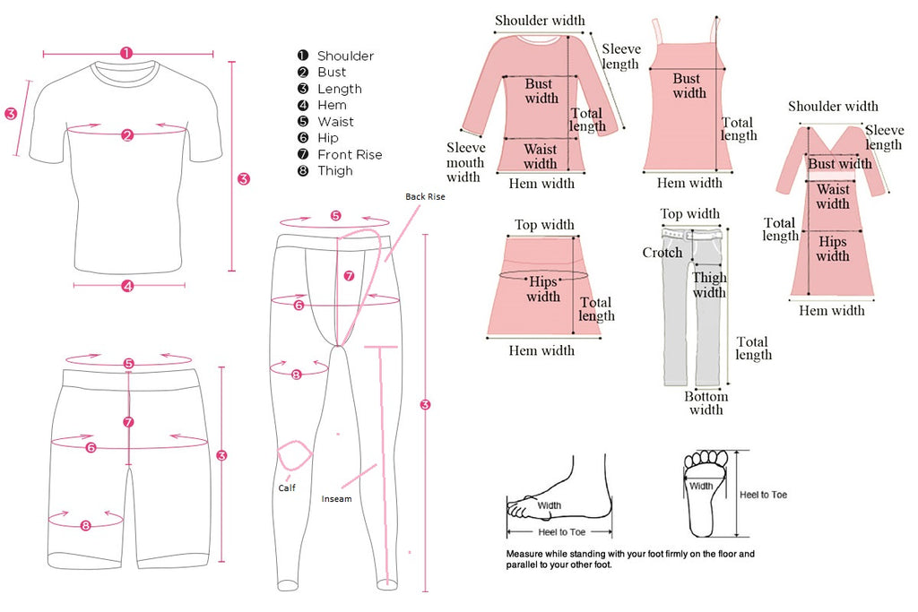 Fashionapolis: Fashion For Fashionista - Size Measurement
