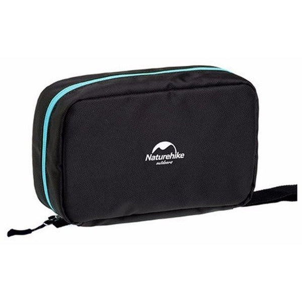 Unisex Waterproof Nylon Toiletry Organizer Bag with Hook-Bags-Fashionapolis