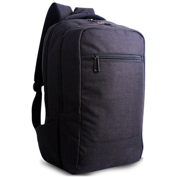 Unisex Canvas Laptop Backpack Bag College Schoolbag-Bags-Fashionapolis