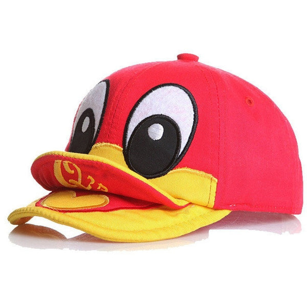 Unisex Baby Kids Cute Duck Baseball Beret Cap-Fashion Accessories-Fashionapolis