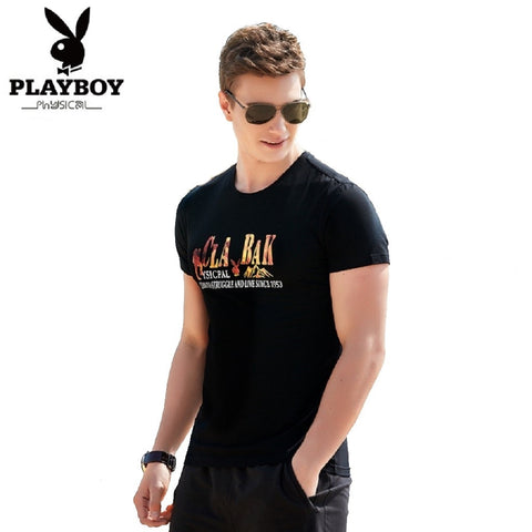 Men PLAYBOY PHYSICAL Cease To Struggle T Shirt Graphic Tees Fashionapolis