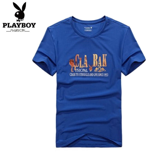 Men PLAYBOY PHYSICAL Cease To Struggle T Shirt-MEN-Fashionapolis