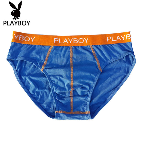 Men 2 Piece PLAYBOY Colorful Underwear Brief-MEN-Fashionapolis