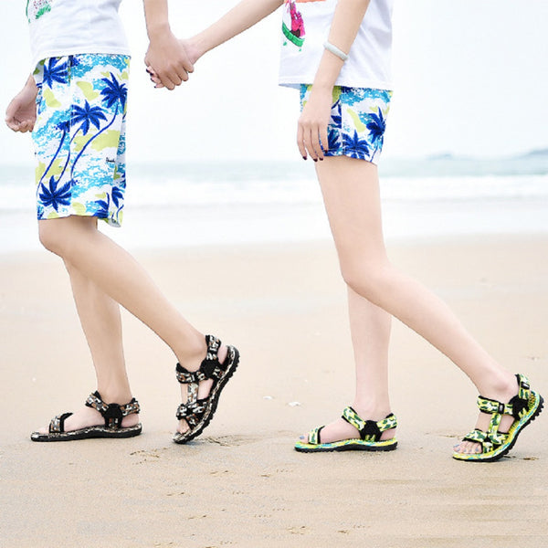 Women PLAYBOY Physical Outdoor Beach Sandals-Shoes-Fashionapolis