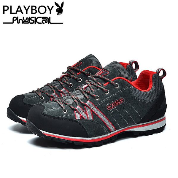 Men PLAYBOY PHYSICAL Adventurous Hiking Shoes-Shoes-Fashionapolis