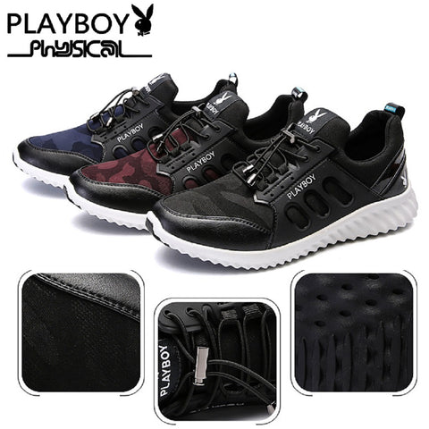 Men PLAYBOY PHYSICAL Lock Laces Camo Shoes
