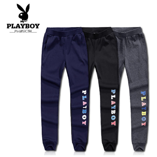 Women PLAYBOY PHYSICAL Colorful Logo Sports Pants-WOMEN-Fashionapolis