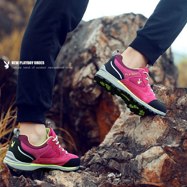 Women PLAYBOY PHYSICAL Adventurous Hiking Shoes-Shoes-Fashionapolis