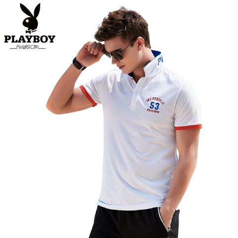 Men PLAYBOY PHYSICAL Get Physical 53 Polo Tee