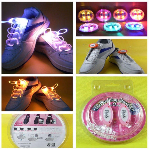 Unisex Outdoor LED Glowing Supplies Shoelaces-Shoes-Fashionapolis