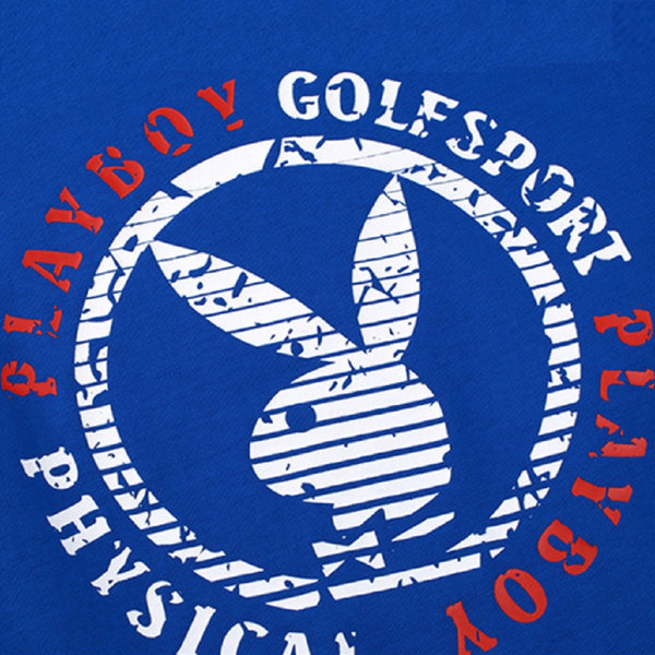 Men PLAYBOY PHYSICAL Golfsport Couple T Shirt-MEN-Fashionapolis