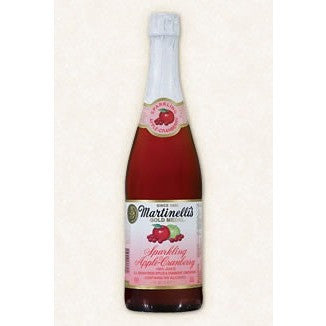 <b> Martinelli Sparkling Apple Cranberry 1 Bottle (6.95ea)