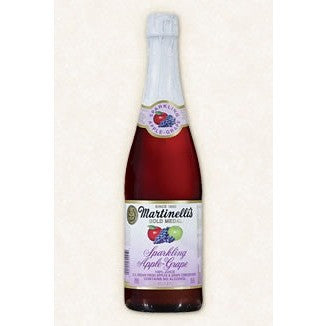<b> Martinelli Sparkling Apple Grape 1 Bottle (6.95ea)